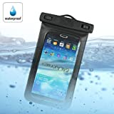Waterproof Pouch Dry Bag Case Underwater Cover For Samsung Galaxy Mega 6.3 I9200 I9205 - Black