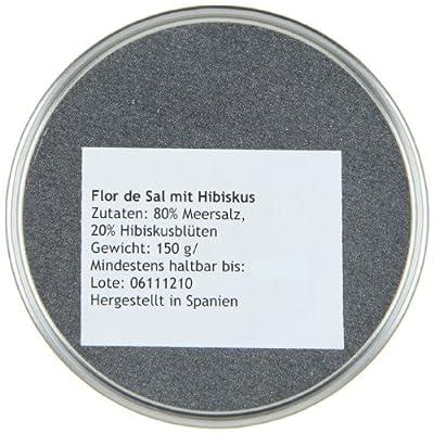 Gusto Mundial Flor de Sal Hibiscus, 1er Pack (1 x 150 g) von Gusto Mundial auf Gewürze Shop