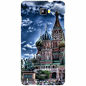 Micromax Canvas Nitro A311 Back Cover - Silicon Monument Designer Cases