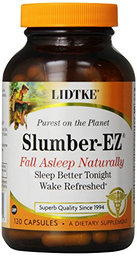Lidtke Technologies Slumber-Ez Capsules, 120 Count