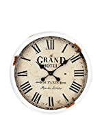 Tomasucci Reloj De Pared Grand Hotel Blanco