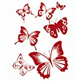Generic Wall Painting Butterfly Stencil Pattern