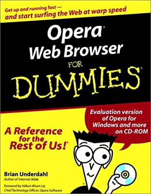 OperaWeb Browser For Dummies(For Dummies (Computers))