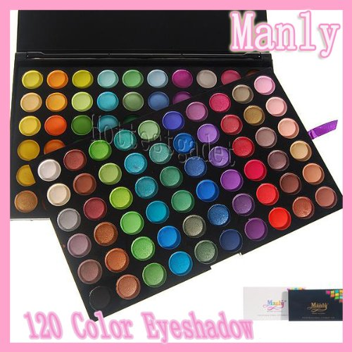 New Manly 120 Color Eyeshadow Makeup Shimmer Matte Palette