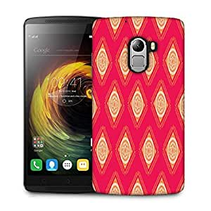 Snoogg Abstract Rangolies Designer Protective Phone Back Case Cover For Lenovo Vibe K4 Note