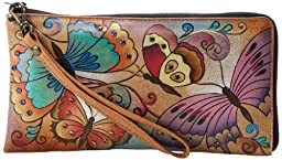 Anuschka 508 Clutch,Henna Butterfly,One Size