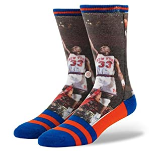 Stance Patrick Ewing New York Knicks NBA Legend Collection Socks by Stance