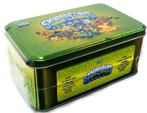 2013 Skylanders Swap Force Trading Cards Tin - 1