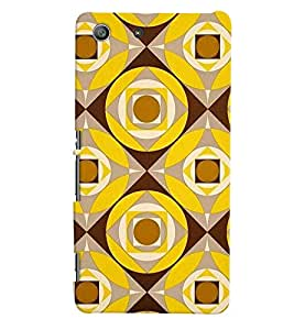 Sony Xperia M5 MULTICOLOR PRINTED BACK COVER FROM GADGET LOOKS