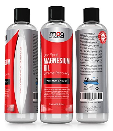 Magnesium oil sore muscles