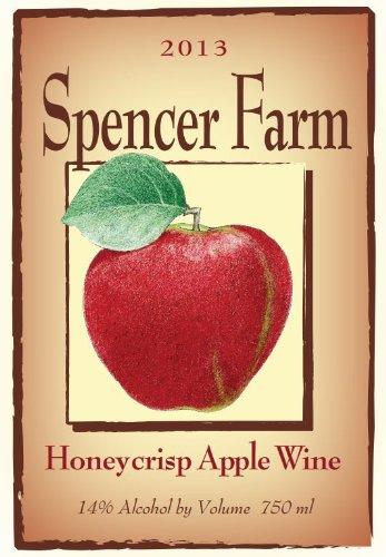 2013 Spencer Farm Honeycrisp Apple Wine 750 Ml