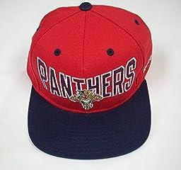 Florida Panthers Snapback Hat by Reebok NF95Z