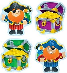 Carson Dellosa Pirates and Treasure Chests Cut-Outs (120086)