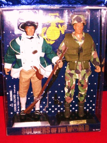 Buy Low Price Formative International Soldiers of the World Colonist and U.S. Marine Two 12″ Figure Set (B003N4NQ06)