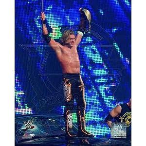 (16x20) World Wrestling Entertainment - Edge WrestleMania XXVII Action Glossy Photograph