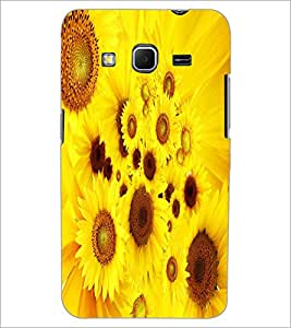 PRINTSWAG YELLOW FLOWERS Designer Back Cover Case for SAMSUNG GALAXY CORE PRIME