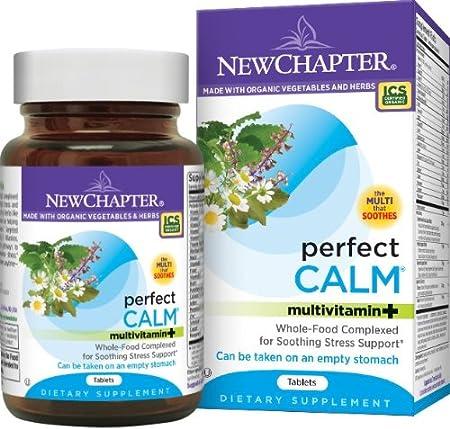 New Chapter Perfect Calm 有机舒缓压力综合营养素144粒,$30.79(到手价格约¥243)