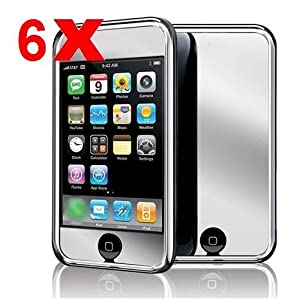 Mirror Screen Protector Cover for iPod Touch 2nd 3rd Gen -Qty-6
