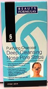 Beauty Formulas Charcoal Nose Strips - 6 Sachets
