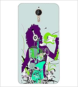 PrintDhaba Music D-2916 Back Case Cover for LETV LE 1 PRO ULTRA (Multi-Coloured)