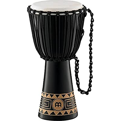 "Meinl Percussion HDJ1-M Headliner ""Congo Series"" Wood Djembe, Medium: 10"" Diameter by AOHY9"