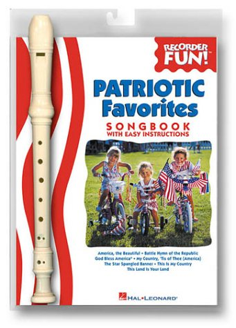 Patriotic Favorites: Book/Instrument Pack (Recorder), Hal Leonard Corp.