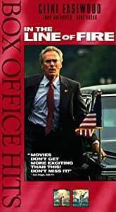 In the Line of Fire [VHS]
