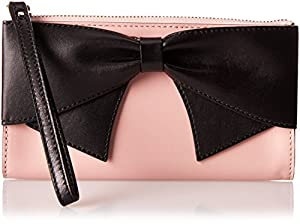 kate spade new york Hanover Street Sable Top Handle Bag,Pink Granite/Black,One Size