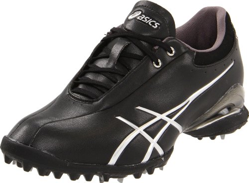 ASICS Women's GEL-Ace Thea Golf Shoe,Black/Silver,8 M US