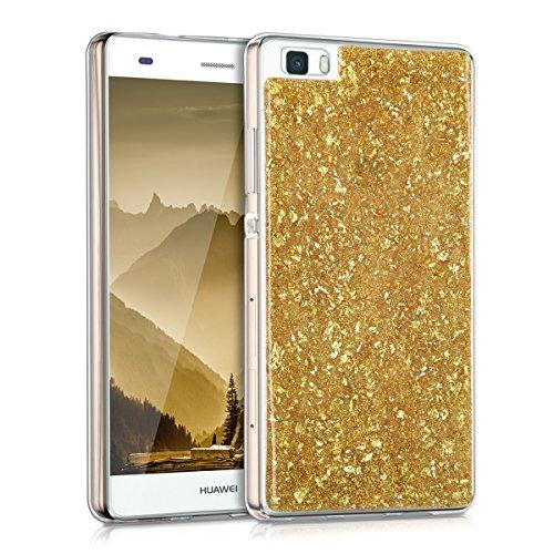 kwmobile-custodia-tpu-silicone-crystal-per-huawei-p8-lite-colore-oro-trasparente-design-fiocchi-bril