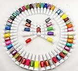 30 Colors Nail Art Two-Way Pen and Brush Varnish Polish