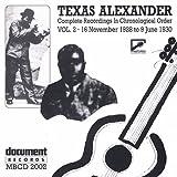 Texas Alexander, Vol. 2: 1928-1930
