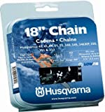 Husqvarna Forest & Garden 531300439 Chain Saw Chain, Narrow Kerf, 18-In.