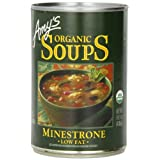 Amy's Organic Minestrone Soup, 14.1-Ounce Cans (Pack of 12) ~ Amy's Organic