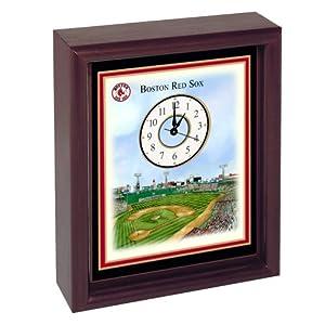 Boston Red Sox Fenway Park Stadium Colorprint Desk Clock by Boston