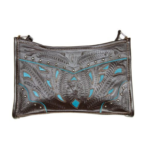ropin-west-hand-tooled-leather-filigree-purse-one-size-brown-turquoise