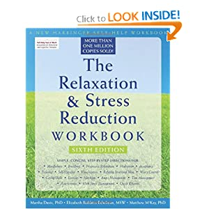 Reduce stress with The Relaxation & Stress Workbook | Organize to Revitalize Blog