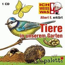 Albert E. erklärt Tiere in unserem Garten (Ich weiß was) Audiobook by Anke Riedel Narrated by Philipp Schepmann