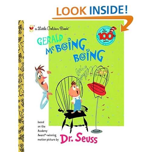 Gerald McBoing Boing (Little Golden Book)