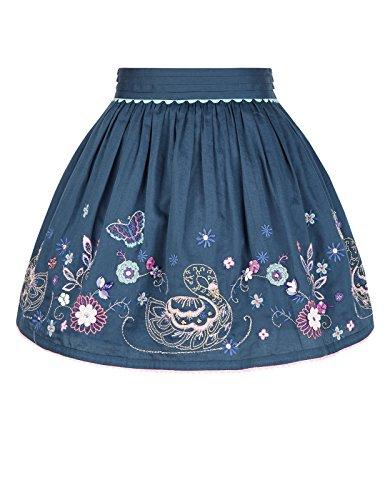 monsoon-children-jupe-motif-cygnes-suki-fille-7-8-ans