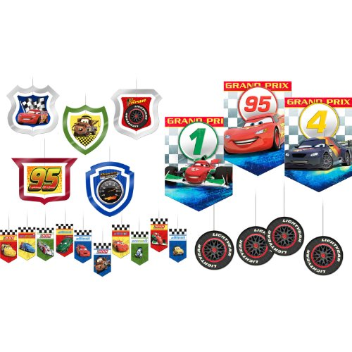 Cars Dream Party Room Kit