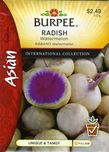 Burpee 69646 Asian - Radish Watermelon Seed Packet