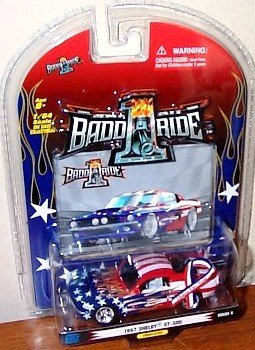 1BaddRide 1967 Shelby GT-500 Support Our Troops Series 5 | Scale 1:64