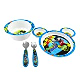The First Years Disney Mickey Mouse 4 pc Feeding Set-1 ea