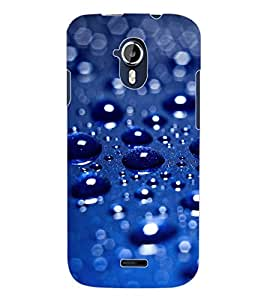 ColourCraft Water Drops Design Back Case Cover for MICROMAX CANVAS MAGNUS A117
