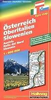 Autriche - Haute Italie - Slovénie : 1/600 000
