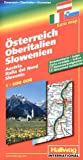 echange, troc Hallwag International - Autriche - Haute Italie - Slovénie : 1/600 000