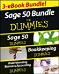 Sage 50  For Dummies Three e-book Bun...