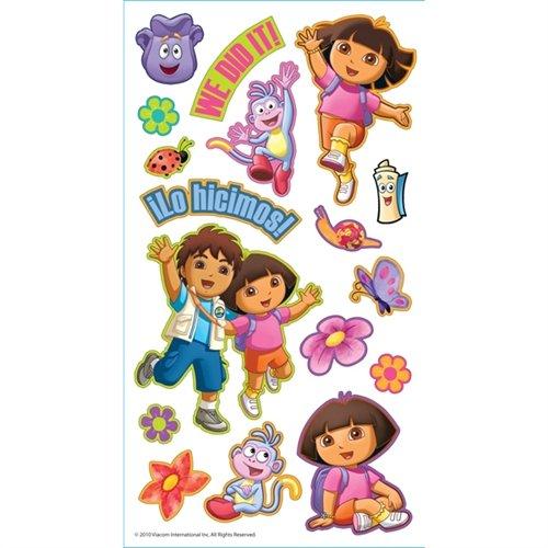 Nickelodeon Puffy Stickers, Dora - 1
