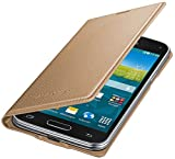 Samsung Original Etui Portefeuille pour Samsung Galaxy S5 Mini - Or